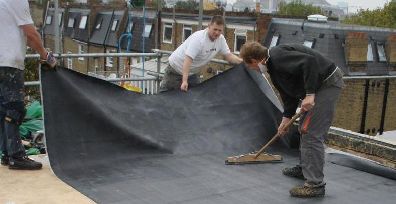 Hoe een EPDM dak leggen?