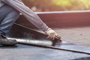 Roofing dak lijmen
